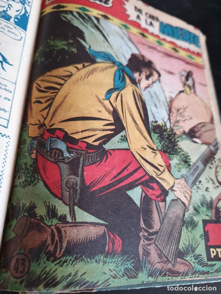 Tebeos: 1949 GACELA BLANCA -ORIGINAL- COMPLETA los 54 ejemplares - Foto 46 - 207229852