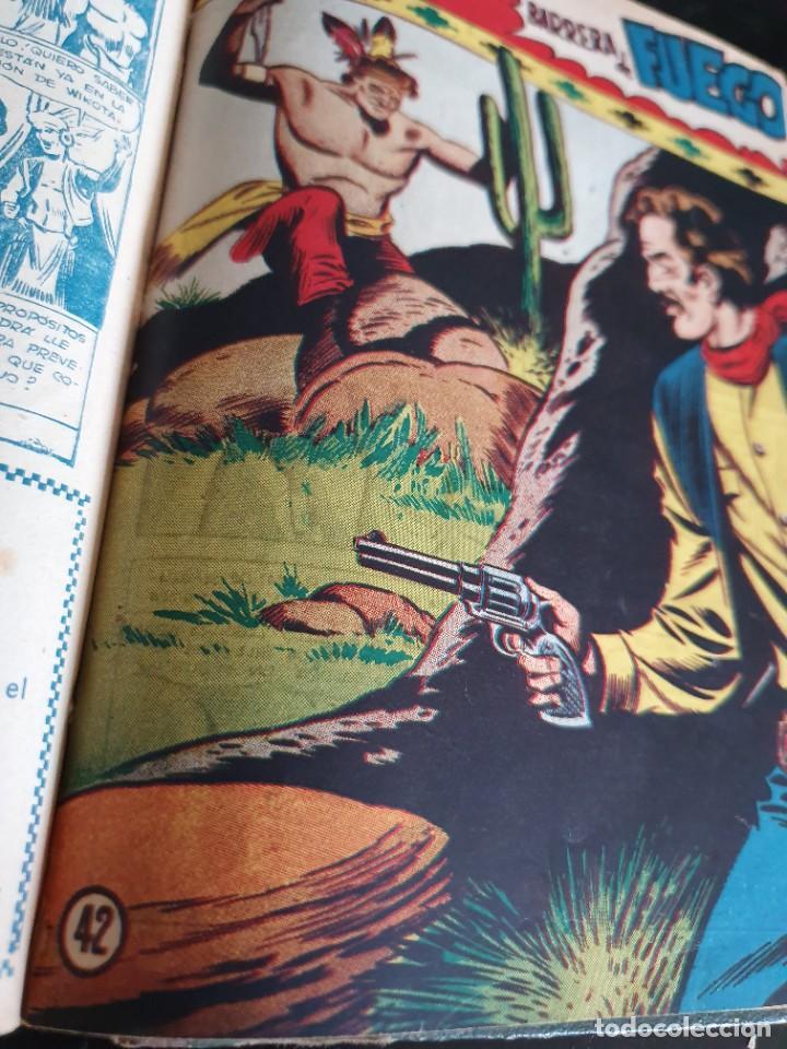 Tebeos: 1949 GACELA BLANCA -ORIGINAL- COMPLETA los 54 ejemplares - Foto 47 - 207229852