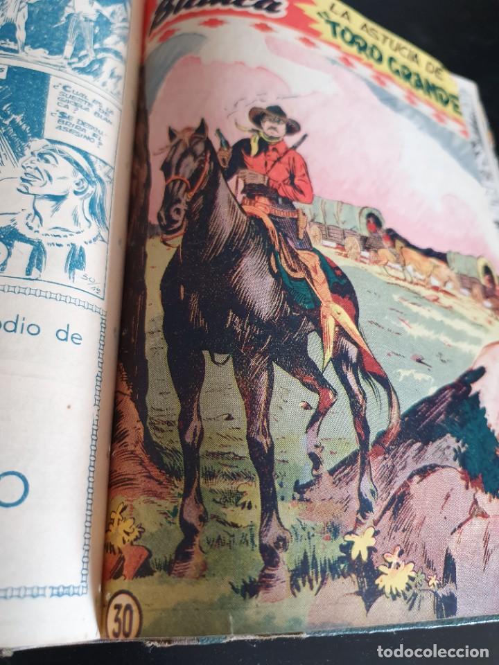 Tebeos: 1949 GACELA BLANCA -ORIGINAL- COMPLETA los 54 ejemplares - Foto 60 - 207229852