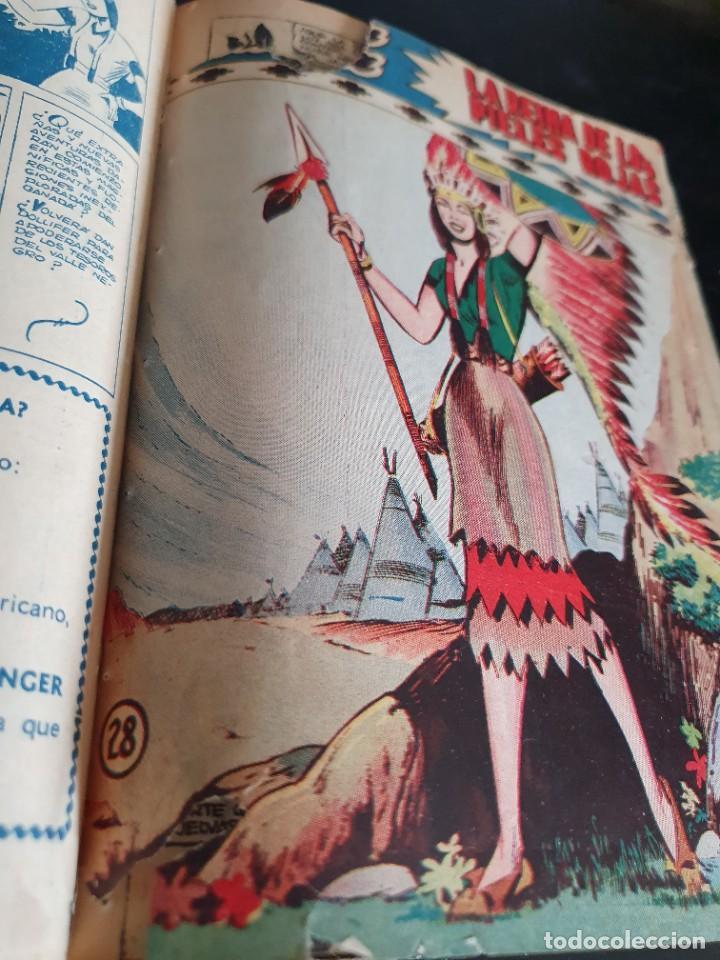 Tebeos: 1949 GACELA BLANCA -ORIGINAL- COMPLETA los 54 ejemplares - Foto 62 - 207229852