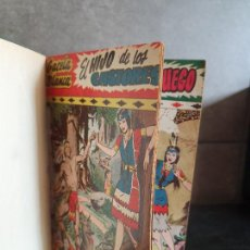 Tebeos: 1949 GACELA BLANCA -ORIGINAL- COMPLETA LOS 54 EJEMPLARES. Lote 207229852