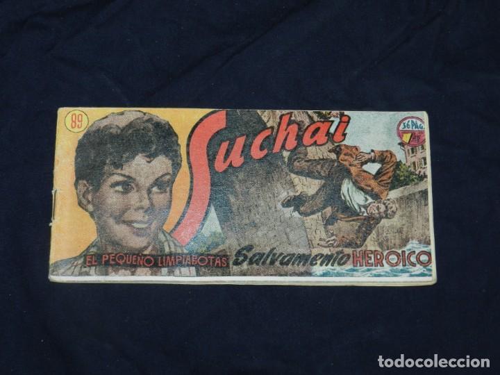 (M-19) SUCHAI NUM 89 - EDC HISPANO AMERICANA ( ORIGINAL ), SEÑALES DE USO (Tebeos y Comics - Hispano Americana - Suchai)