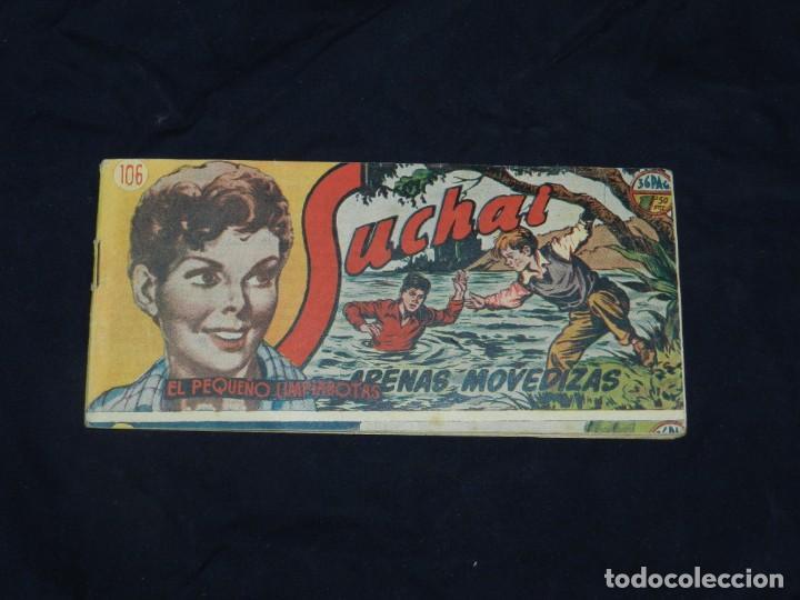 (M-19) SUCHAI NUM 106 - EDC HISPANO AMERICANA ( ORIGINAL ), SEÑALES DE USO (Tebeos y Comics - Hispano Americana - Suchai)