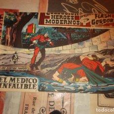 Tebeos: COLECCION HEROES MODERNOS FLASH GORDON Y EL HOMBRE ENMASCARADO Nº 11, EL MEDICO INFALIBLE, 1958. Lote 207812472