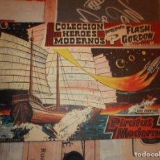 Tebeos: COLECCION HEROES MODERNOS FLASH GORDON Y EL HOMBRE ENMASCARADO Nº 14, PIRATAS MODERNOS. Lote 207814921