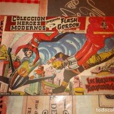Tebeos: COLECCION HEROES MODERNOS FLASH GORDON Y EL HOMBRE ENMASCARADO Nº 15, LAS MAQUINAS TODO PODEROSAS. Lote 207815175