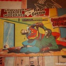 Tebeos: COLECCION HEROES MODERNOS FLASH GORDON Y EL HOMBRE ENMASCARADO Nº 22, COMBATIENDO POR LA CORONA. Lote 207815406