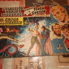 Tebeos: COLECCION HEROES MODERNOS FLASH GORDON Y EL HOMBRE ENMASCARADO Nº 7, LA DROGA DE LA COBARDIA. Lote 207816387
