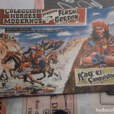 Tebeos: COLECCION HEROES MODERNOS FLASH GORDON Y EL HOMBRE ENMASCARADO Nº 8, KAG EL CONQUISTADOR. Lote 207816526