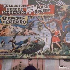 Tebeos: COLECCION HEROES MODERNOS FLASH GORDON Y EL HOMBRE ENMASCARADO Nº 5, VIAJE AL FUTURO. Lote 207816801