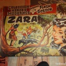 Tebeos: COLECCION HEROES MODERNOS FLASH GORDON Y EL HOMBRE ENMASCARADO Nº 6, ZARA. Lote 207817008