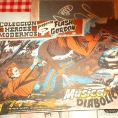 Tebeos: COLECCION HEROES MODERNOS FLASH GORDON Y EL HOMBRE ENMASCARADO Nº 25, MUSICA DIABOLICA. Lote 207818493