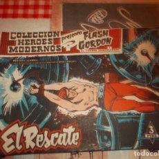 Tebeos: COLECCION HEROES MODERNOS FLASH GORDON Y EL HOMBRE ENMASCARADO Nº 26, EL RESCATE. Lote 207818665