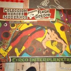 Tebeos: COLECCION HEROES MODERNOS FLASH GORDON Y EL HOMBRE ENMASCARADO Nº 27, CIRCO INTERPLANETARIO. Lote 207818783