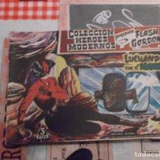 Tebeos: COLECCION HEROES MODERNOS FLASH GORDON Y EL HOMBRE ENMASCARADO Nº 30, LUCHANDO CON EL IGUANA. Lote 207819155