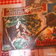 Tebeos: COLECCION HEROES MODERNOS FLASH GORDON Y EL HOMBRE ENMASCARADO Nº 23,LA MALDICION DE VULKE. Lote 207819380