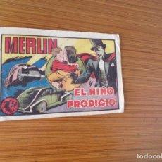 Tebeos: MERLIN Nº EL NIÑO PRODIGIO EDITA HISPANO AMERICANA. Lote 207864420
