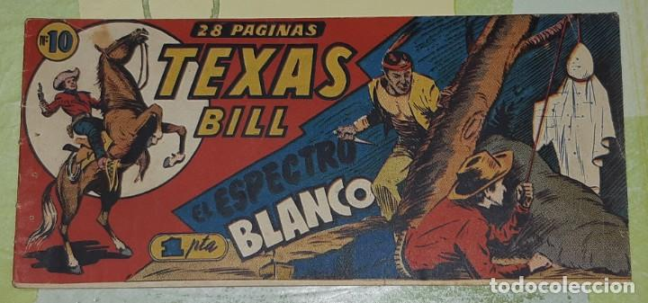 Tebeos: TEBEOS-COMICS CANDY - TEX WILLER - TEXAS BILL - COMPLETA - HISPANOAMERICANA 1949 - UNICA - UU99 - Foto 19 - 205257267