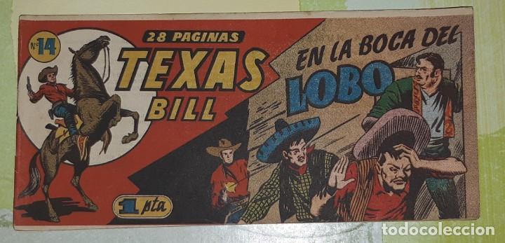Tebeos: TEBEOS-COMICS CANDY - TEX WILLER - TEXAS BILL - COMPLETA - HISPANOAMERICANA 1949 - UNICA - UU99 - Foto 27 - 205257267
