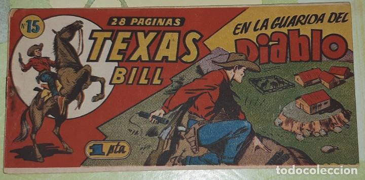 Tebeos: TEBEOS-COMICS CANDY - TEX WILLER - TEXAS BILL - COMPLETA - HISPANOAMERICANA 1949 - UNICA - UU99 - Foto 29 - 205257267