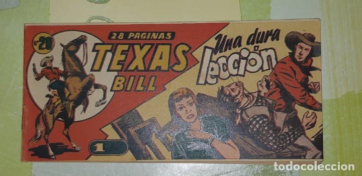 Tebeos: TEBEOS-COMICS CANDY - TEX WILLER - TEXAS BILL - COMPLETA - HISPANOAMERICANA 1949 - UNICA - UU99 - Foto 39 - 205257267