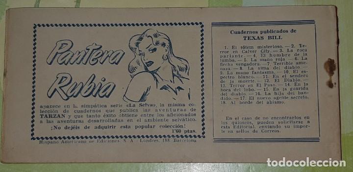 Tebeos: TEBEOS-COMICS CANDY - TEX WILLER - TEXAS BILL - COMPLETA - HISPANOAMERICANA 1949 - UNICA - UU99 - Foto 40 - 205257267