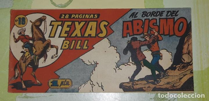 Tebeos: TEBEOS-COMICS CANDY - TEX WILLER - TEXAS BILL - COMPLETA - HISPANOAMERICANA 1949 - UNICA - UU99 - Foto 35 - 205257267