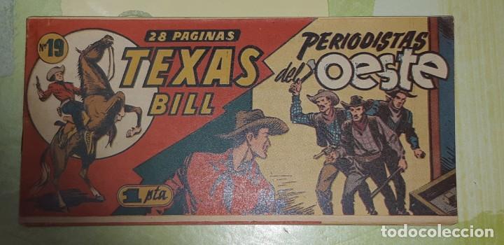 Tebeos: TEBEOS-COMICS CANDY - TEX WILLER - TEXAS BILL - COMPLETA - HISPANOAMERICANA 1949 - UNICA - UU99 - Foto 37 - 205257267