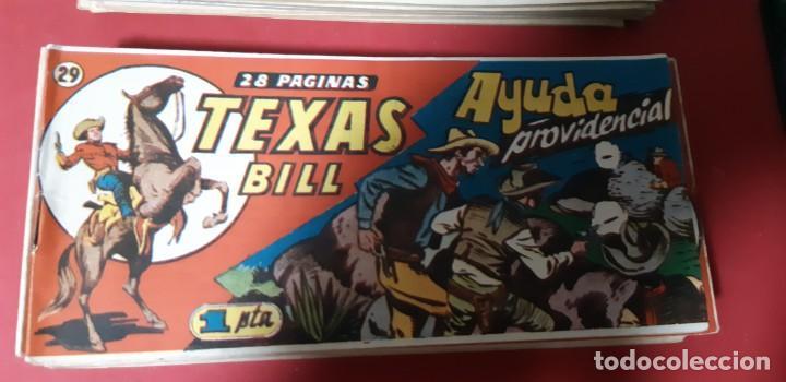 Tebeos: TEBEOS-COMICS CANDY - TEX WILLER - TEXAS BILL - COMPLETA - HISPANOAMERICANA 1949 - UNICA - UU99 - Foto 57 - 205257267