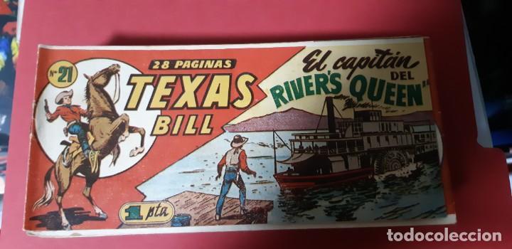 Tebeos: TEBEOS-COMICS CANDY - TEX WILLER - TEXAS BILL - COMPLETA - HISPANOAMERICANA 1949 - UNICA - UU99 - Foto 41 - 205257267