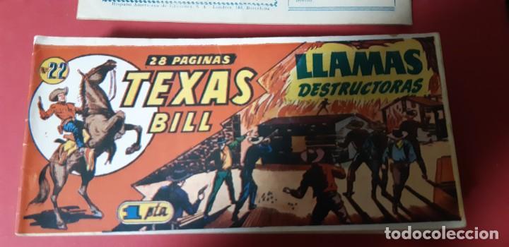 Tebeos: TEBEOS-COMICS CANDY - TEX WILLER - TEXAS BILL - COMPLETA - HISPANOAMERICANA 1949 - UNICA - UU99 - Foto 43 - 205257267