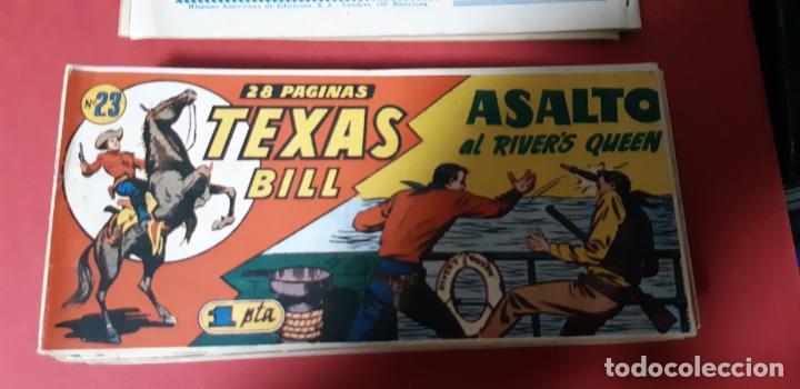 Tebeos: TEBEOS-COMICS CANDY - TEX WILLER - TEXAS BILL - COMPLETA - HISPANOAMERICANA 1949 - UNICA - UU99 - Foto 45 - 205257267