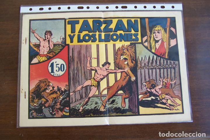 Tebeos: hispano americana - colección de tarzán, años 40, ver interior, - Foto 92 - 26004502