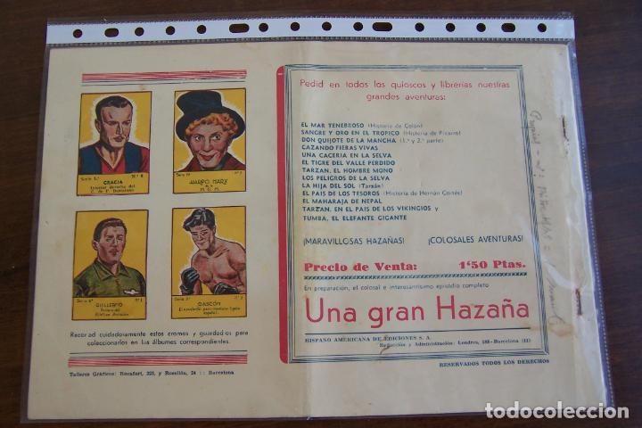 Tebeos: hispano americana - colección de tarzán, años 40, ver interior, - Foto 93 - 26004502