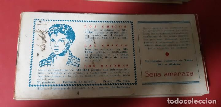 Tebeos: TEBEOS-COMICS CANDY - TEX WILLER - TEXAS BILL - COMPLETA - HISPANOAMERICANA 1949 - UNICA - UU99 - Foto 66 - 205257267
