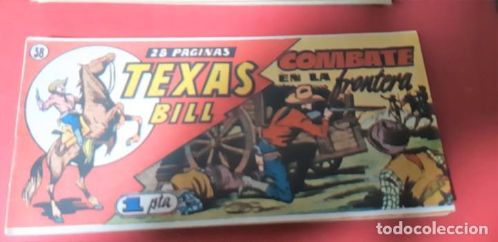 Tebeos: TEBEOS-COMICS CANDY - TEX WILLER - TEXAS BILL - COMPLETA - HISPANOAMERICANA 1949 - UNICA - UU99 - Foto 75 - 205257267