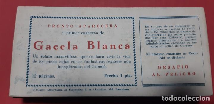 Tebeos: TEBEOS-COMICS CANDY - TEX WILLER - TEXAS BILL - COMPLETA - HISPANOAMERICANA 1949 - UNICA - UU99 - Foto 82 - 205257267