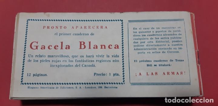Tebeos: TEBEOS-COMICS CANDY - TEX WILLER - TEXAS BILL - COMPLETA - HISPANOAMERICANA 1949 - UNICA - UU99 - Foto 84 - 205257267