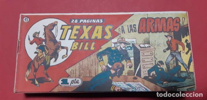 Tebeos: TEBEOS-COMICS CANDY - TEX WILLER - TEXAS BILL - COMPLETA - HISPANOAMERICANA 1949 - UNICA - UU99 - Foto 85 - 205257267
