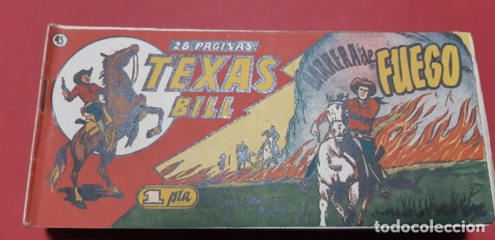 Tebeos: TEBEOS-COMICS CANDY - TEX WILLER - TEXAS BILL - COMPLETA - HISPANOAMERICANA 1949 - UNICA - UU99 - Foto 89 - 205257267