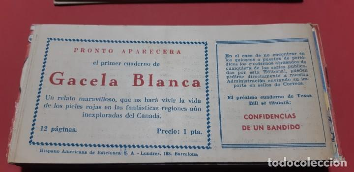 Tebeos: TEBEOS-COMICS CANDY - TEX WILLER - TEXAS BILL - COMPLETA - HISPANOAMERICANA 1949 - UNICA - UU99 - Foto 92 - 205257267