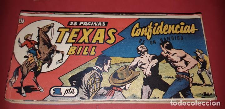 Tebeos: TEBEOS-COMICS CANDY - TEX WILLER - TEXAS BILL - COMPLETA - HISPANOAMERICANA 1949 - UNICA - UU99 - Foto 93 - 205257267