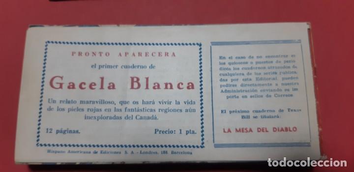 Tebeos: TEBEOS-COMICS CANDY - TEX WILLER - TEXAS BILL - COMPLETA - HISPANOAMERICANA 1949 - UNICA - UU99 - Foto 94 - 205257267