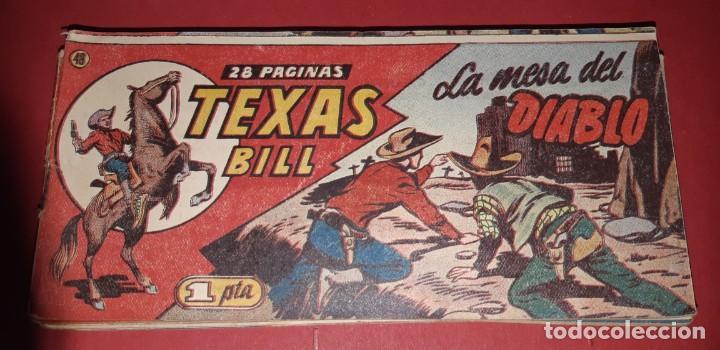 Tebeos: TEBEOS-COMICS CANDY - TEX WILLER - TEXAS BILL - COMPLETA - HISPANOAMERICANA 1949 - UNICA - UU99 - Foto 95 - 205257267