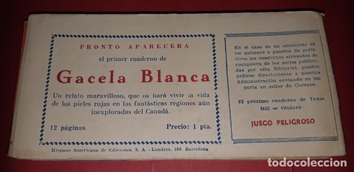 Tebeos: TEBEOS-COMICS CANDY - TEX WILLER - TEXAS BILL - COMPLETA - HISPANOAMERICANA 1949 - UNICA - UU99 - Foto 96 - 205257267