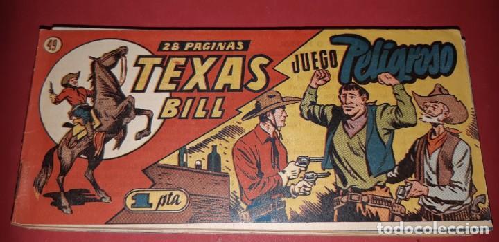 Tebeos: TEBEOS-COMICS CANDY - TEX WILLER - TEXAS BILL - COMPLETA - HISPANOAMERICANA 1949 - UNICA - UU99 - Foto 97 - 205257267