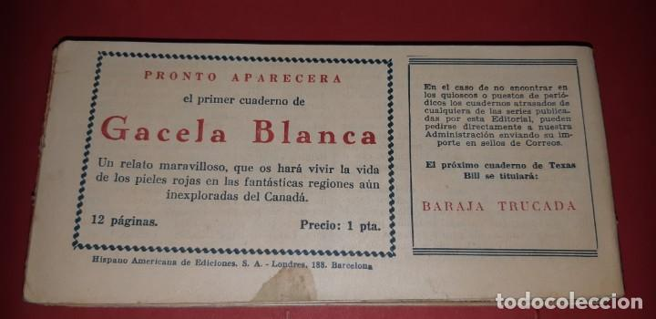 Tebeos: TEBEOS-COMICS CANDY - TEX WILLER - TEXAS BILL - COMPLETA - HISPANOAMERICANA 1949 - UNICA - UU99 - Foto 98 - 205257267