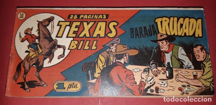 Tebeos: TEBEOS-COMICS CANDY - TEX WILLER - TEXAS BILL - COMPLETA - HISPANOAMERICANA 1949 - UNICA - UU99 - Foto 99 - 205257267