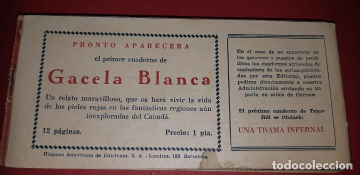 Tebeos: TEBEOS-COMICS CANDY - TEX WILLER - TEXAS BILL - COMPLETA - HISPANOAMERICANA 1949 - UNICA - UU99 - Foto 100 - 205257267