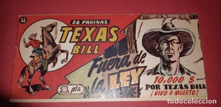 Tebeos: TEBEOS-COMICS CANDY - TEX WILLER - TEXAS BILL - COMPLETA - HISPANOAMERICANA 1949 - UNICA - UU99 - Foto 105 - 205257267
